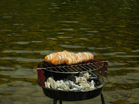 Paluchy z serem i boczkiem Paluszki z kurczaka drobiowe zawijane w boczek zrolowane w boczku jak zrobić przepis mechanik w kuchni marynata do kurczaka chicken bbq recipe