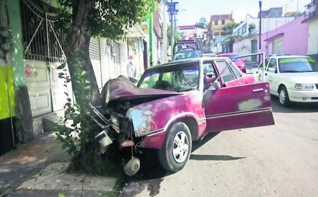 Vehículos, viejos, conductores, Toluca