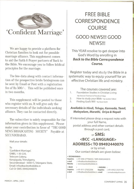 Confident Living Magazine Articles