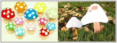 cute mushroom crafts