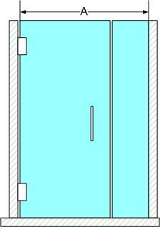 In Line Shower Enclosure 2