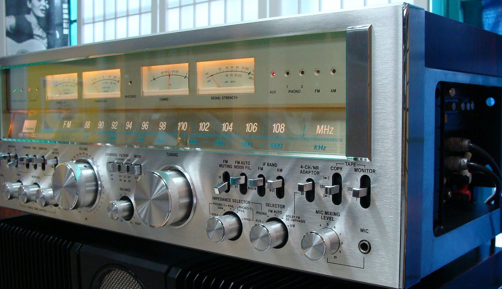 Straight Line Performance >> Sansui G-33000 - Stereo Receiver | AudioBaza
