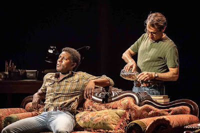 Tesori, Kron & Bechdel: Fun Home - Ashley Samuels, Zubin Varla - Young VIc (Photo Marc Brenner)