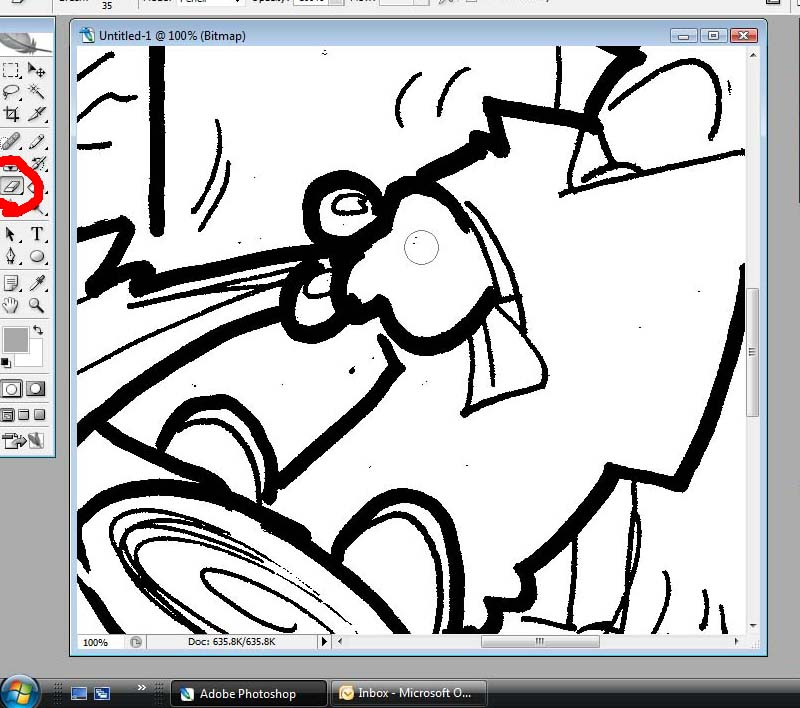 Diary of a Cartoonist: Colouring an editorial cartoon in