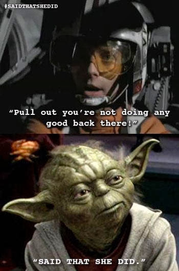 Yoda Meme Nerdgasm Fitnes...