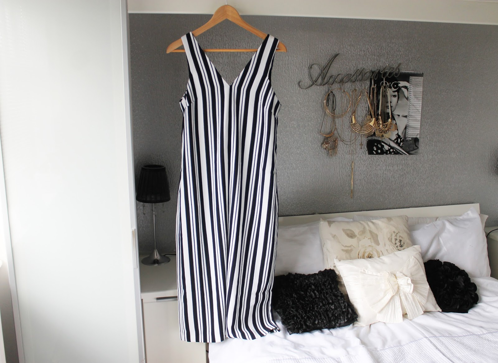 1ecb476d7eff White Dress - Primark. Mix Stripe Culotte Jumpsuit - Forever 21