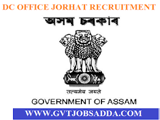 job vacancy in jorhat
