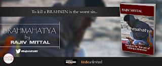 Schedule of Blog Tour: Brahmahatya by Rajiv Mittal