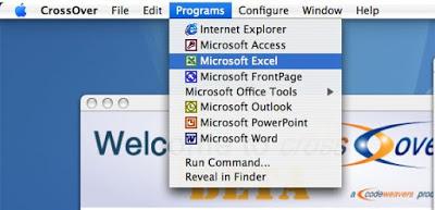تشغيل برامج الويندوز على الماك