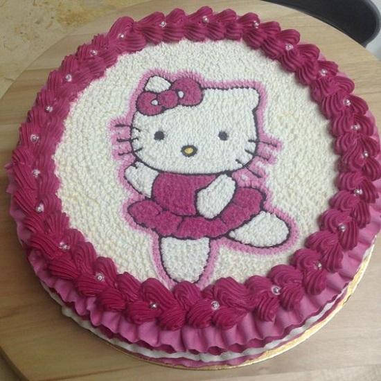 kue ulang tahun karakter hello kitty