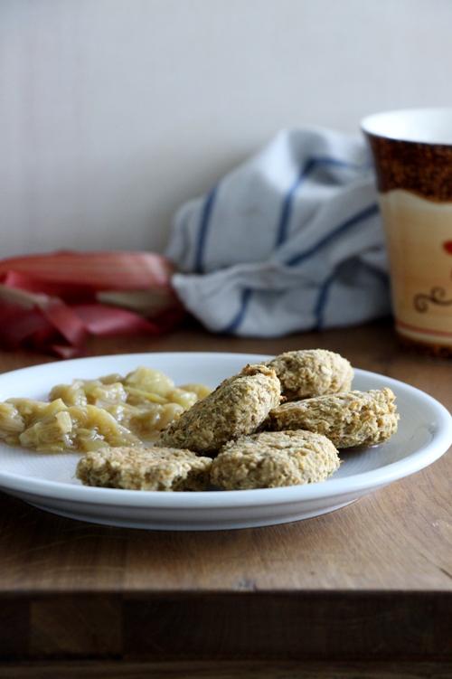 Rhabarber Cookies, Rhabarberkekse