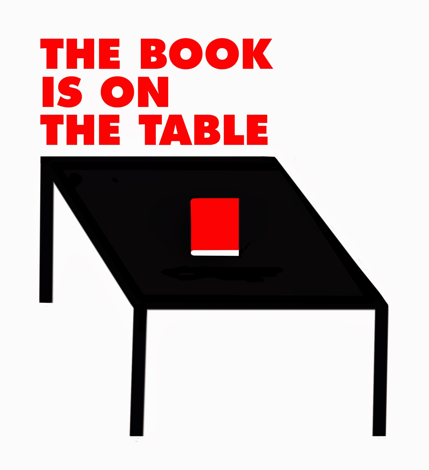 A The Book Is On The Table