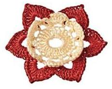 Patrón #1801: Motivo Floral aCrochet