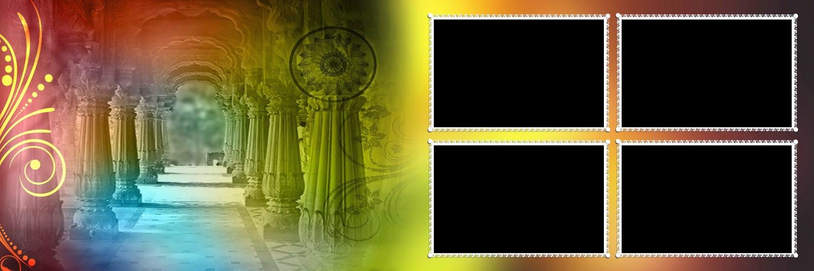 Creative Psd Files Karishma Album Backgrounds Photo Frames
