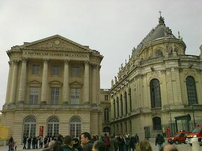 A Todas as Glórias da França, Versalhes - Paris - França - Luís XIV - Napoleão