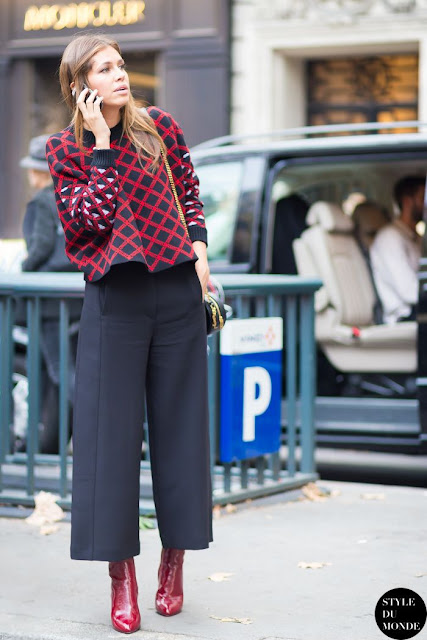 quali stivali abbinare ai pantaloni culotte abbinamento stivale basso e pantalone  culotte boots and culotte pants ankle boots  e pantaloni culotte tendenze moda inverno 2017