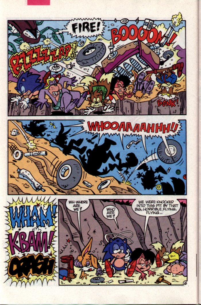 Read online Sonic The Hedgehog comic -  Issue #15 - 7