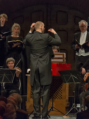 Peter Dijkstra, Netherlands Chamber Choir - photo Leo Samama