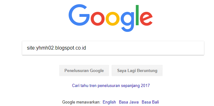 Ciri-ciri blog yang disukai oleh google search Engine