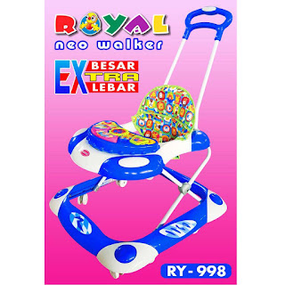 Baby Walker Royal RY998 Neo Baby, Ayunan & Dorongan