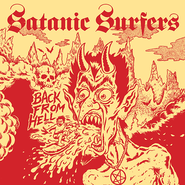 """Skatepunkers Exclusive: Satanic Surfers stream new song """"The Usurper"""", detail new album """"Back From Hell"""""""