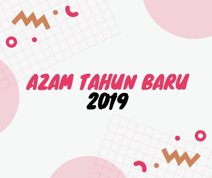 Azam Tahun Baru 2019