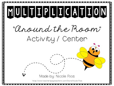 Mrs. Rios Teaches: Multiplication Around the Room Activity and Center