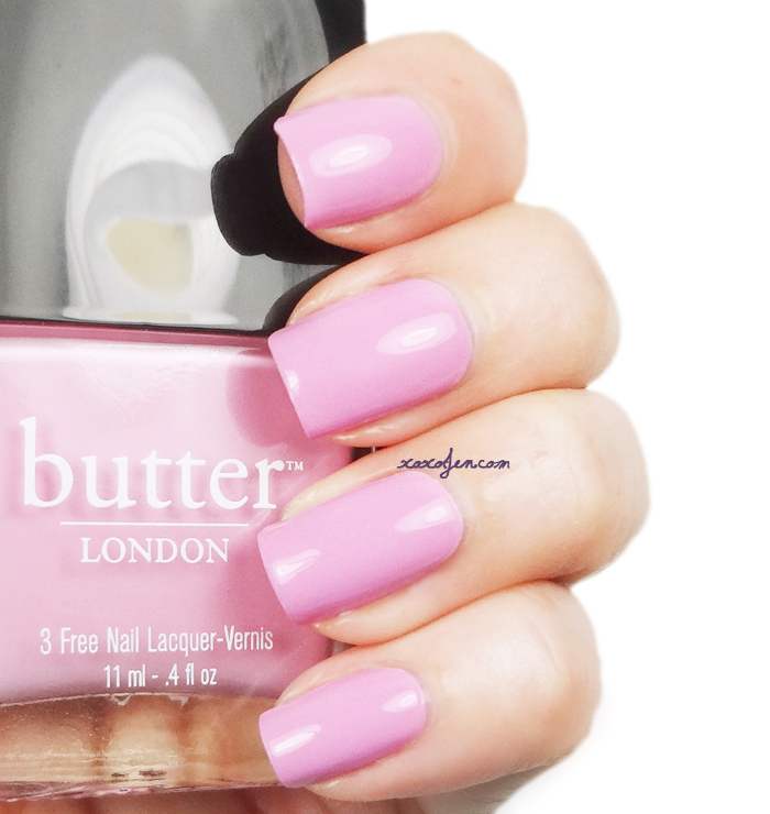 xoxoJen's swatch of Butter London: Fruit Machine