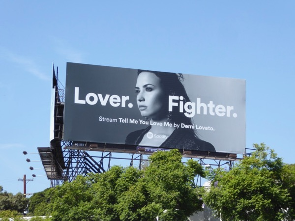 Demi Lovato Lover Fighter Spotify billboard
