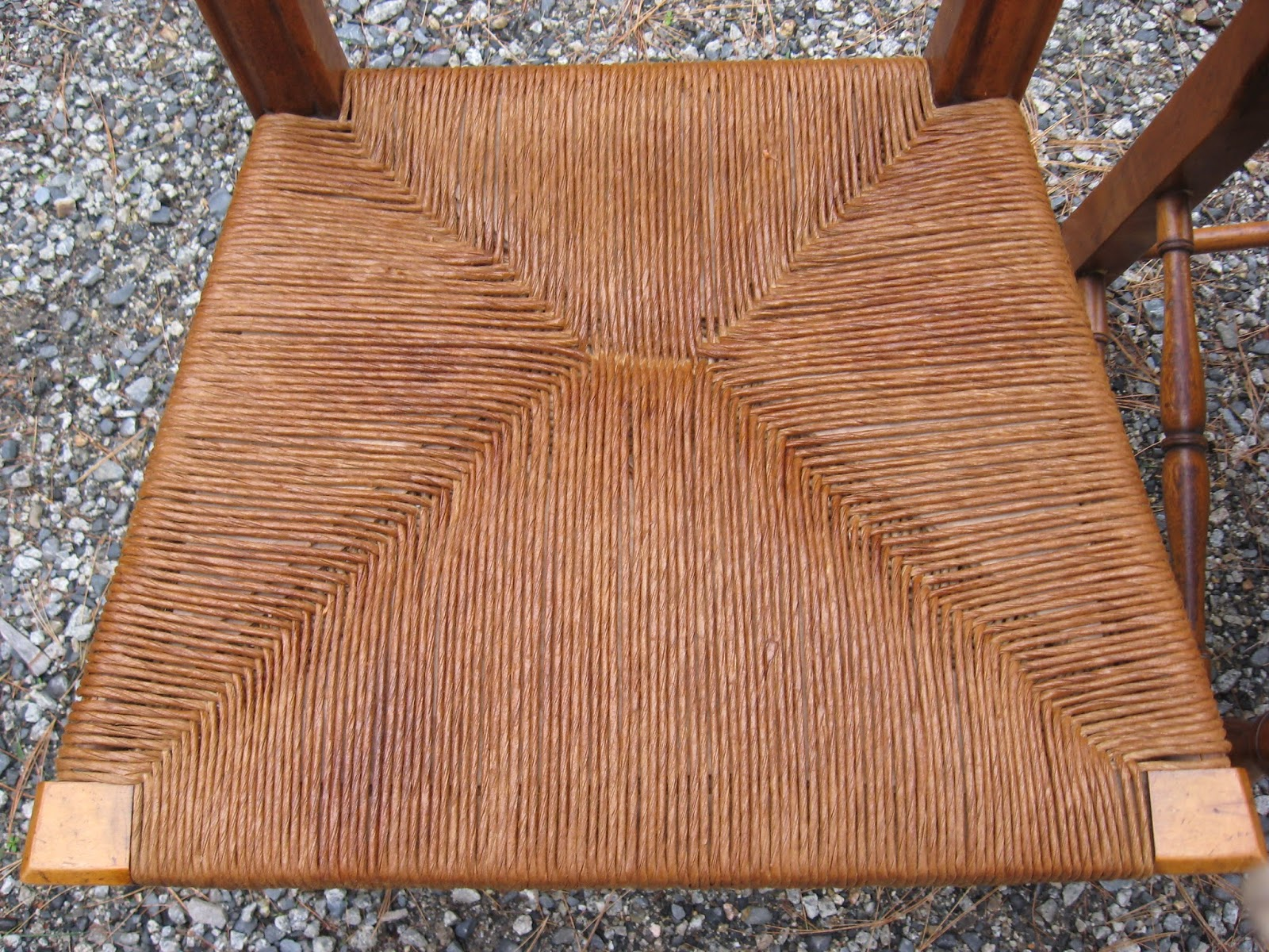 How To Replace Cane Back Chair With Fabric Mid Century Upholstered West Elm Maine Antique Repair