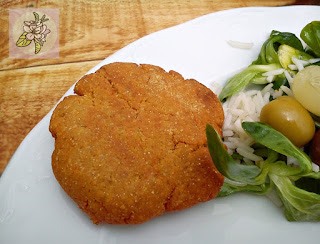 Escalopes de Almendra y Garbanzo
