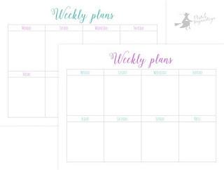 http://piatek13.pl/pl/p/Zestaw-arkuszy-planerowych-Weekly-plans%2C-15x20-cm/95