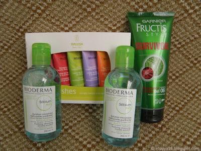 Покупки на сайте eChemist: Bioderma, Garnier Fructis, Weleda