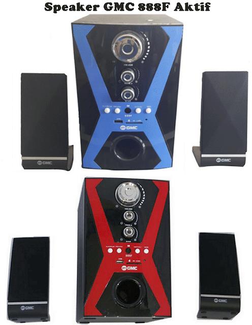 Harga Speaker Aktif GMC 888F
