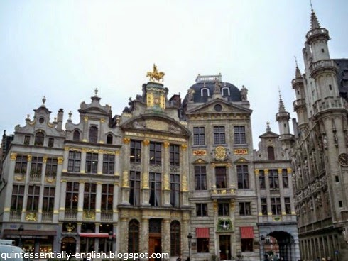 Grand-Place in Brussels,Belgium