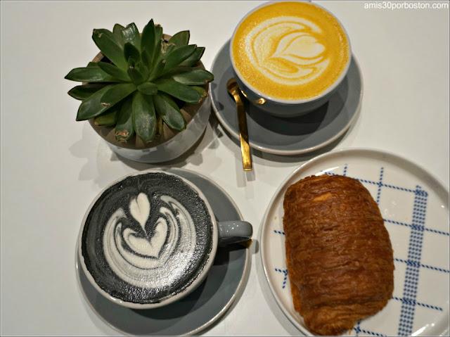 Desayuno en Saltwater Coffee, Nueva York