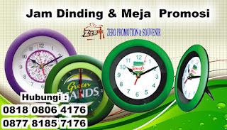 Pabrik JAM PROMOSI : Melayani Jam Dinding promosi utk promosi, Hadiah, souvenir, kampanye