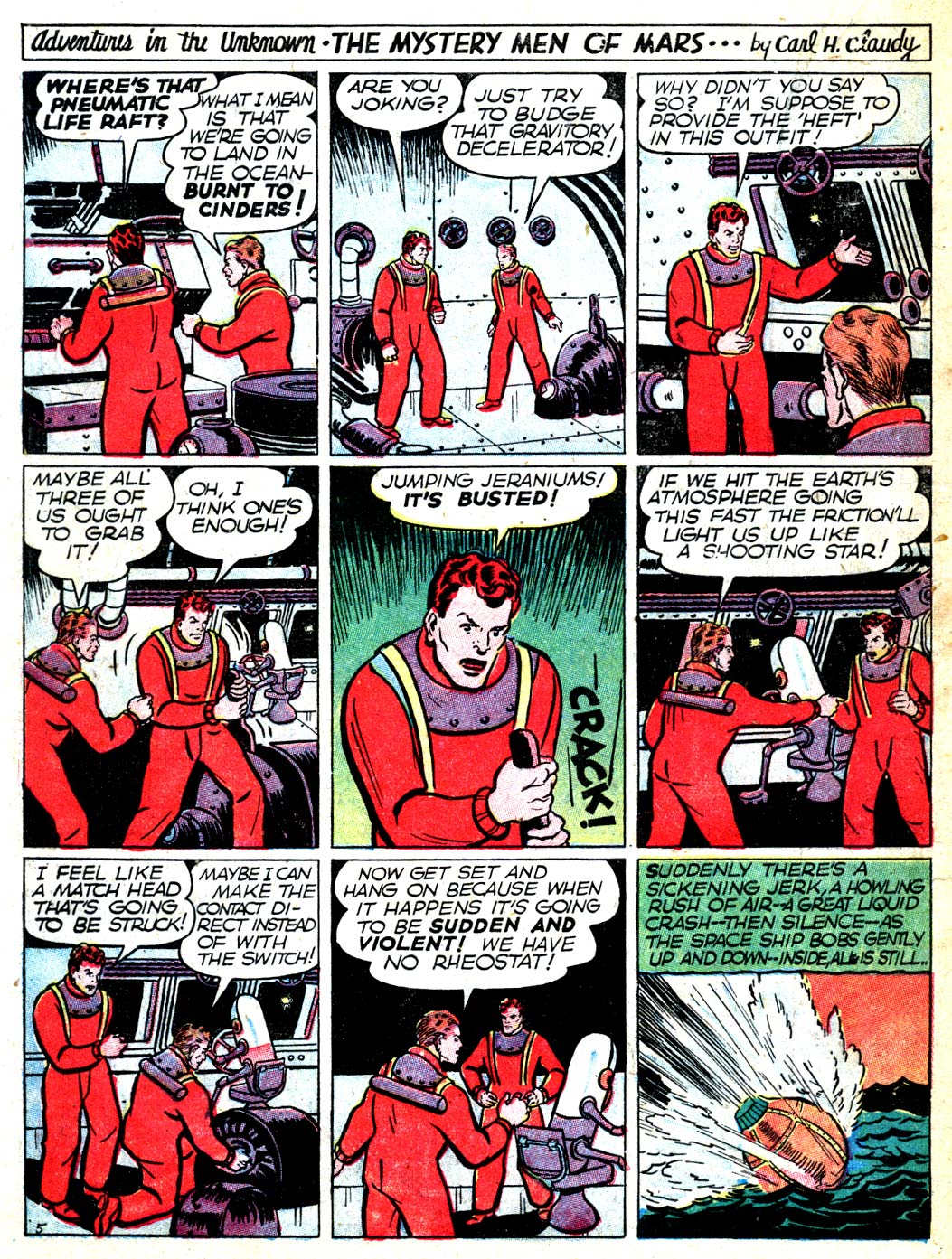 Read online All-American Comics (1939) comic -  Issue #6 - 32