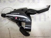 Shift/Brake Lever Shimano ST-EF65L EZ-Fire Plus Lever (4-Finger) 8 Speed