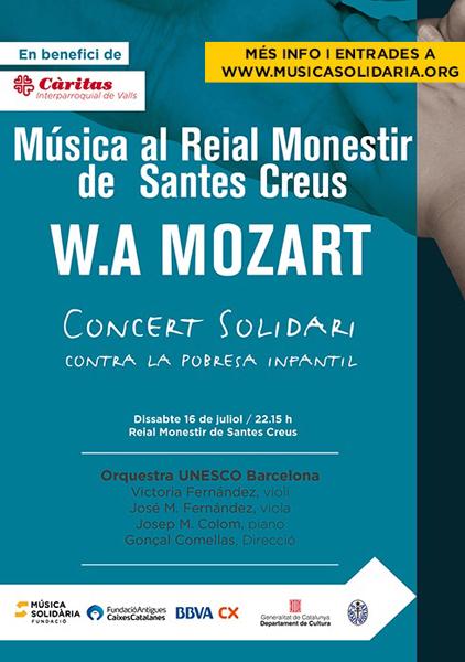 El Monestir de Santes Creus acollirà aquest juliol un concert solidari contra...