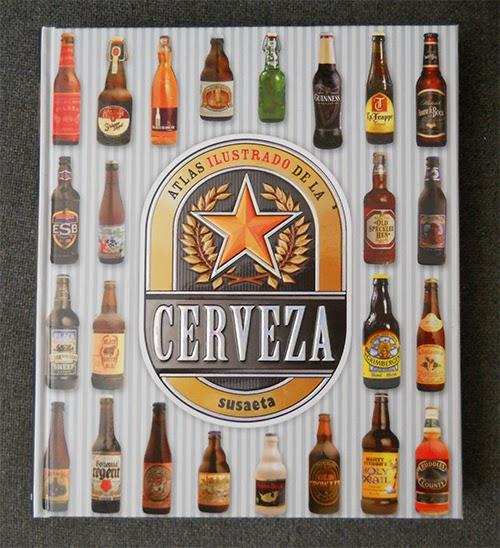 libro atlas ilustrado de la cerveza