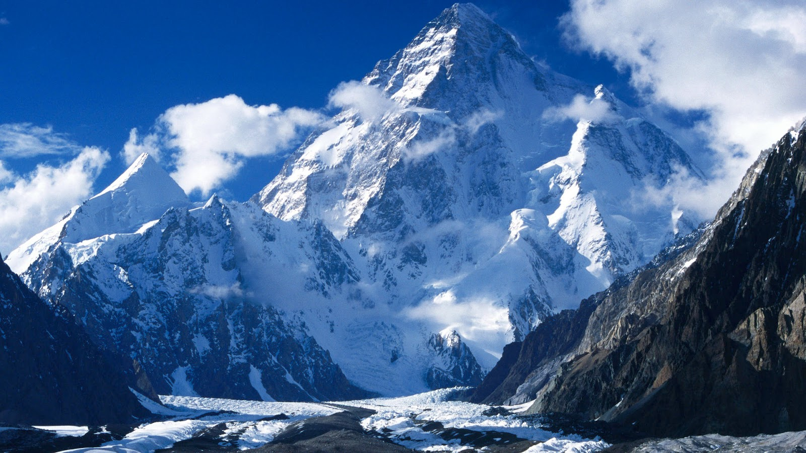 World Beautifull Places: K2 Highest Mountain In The World