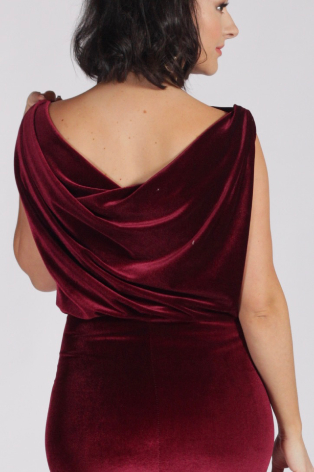 Julia Bobbin - Velvet Vintage Dress