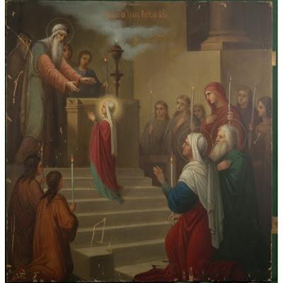 Прот. Григорій Дьяченко († 1903 г.): Введеніе во храмъ Пресвятыя Богородицы