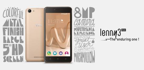 Wiko Lenny 3 Max Smartphone Full Specs And Price