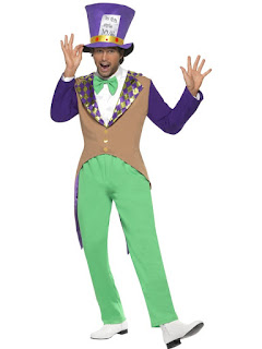 Mad Hatter Costume, Adult