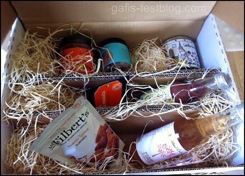 Inhalt der FOODIST Box vom April