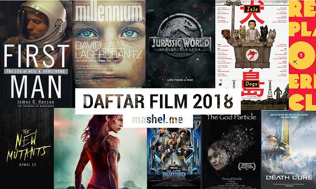 Daftar Film Terbaru Tahun 2018 (Urut Tanggal)