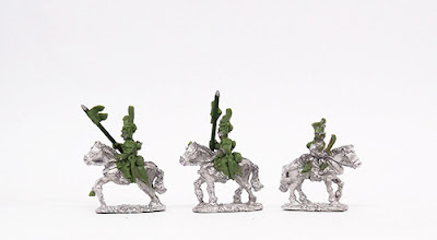 Uhlan Elites and Art - 2 x Uhlan Elites / Horse artillery crew x 4: