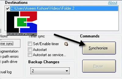 software yang di gunakan untuk  sinkronasi folder di PC